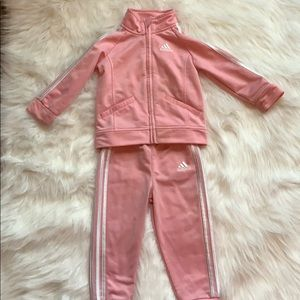 Adorable Adidas track suit!